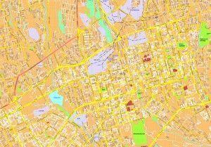 Almaty map