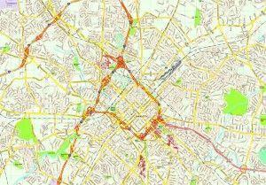 Charlotte map