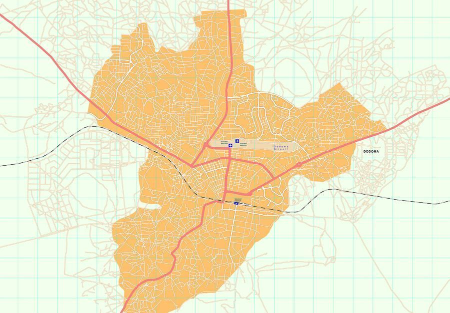 Dodoma map