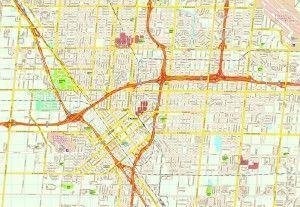 Fresno map