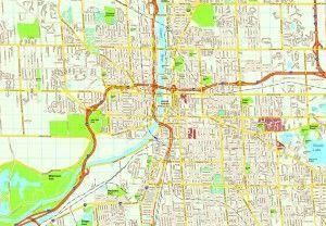 Grand Rapids map