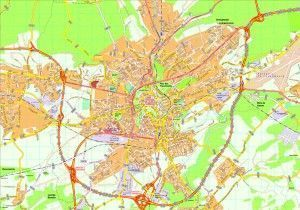 Luxembourg map