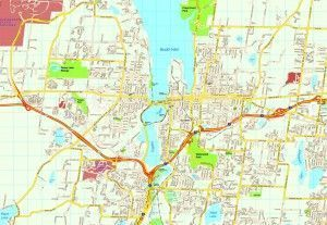 Olympia map