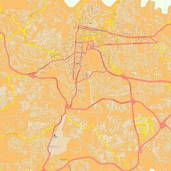 Tegucigalpa map