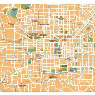 beijing vector map