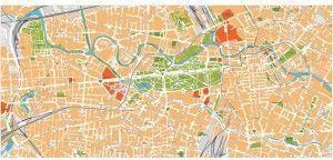 berlin vector map