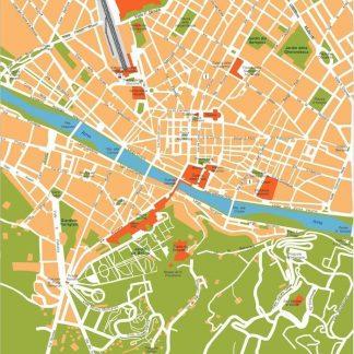 Map Downtown London.London Downtown Map London Eps Illustrator Vector Maps Eps