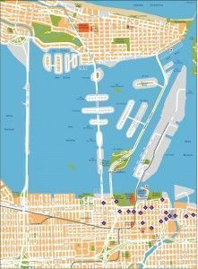 miami vector map