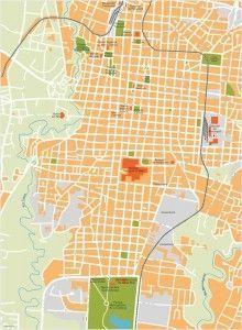 san jose vector map