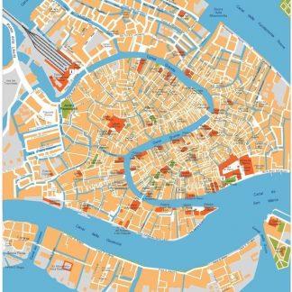 venice vector map
