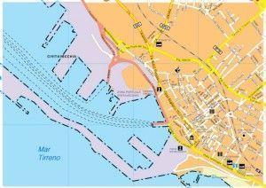 Citavecchia Vector map