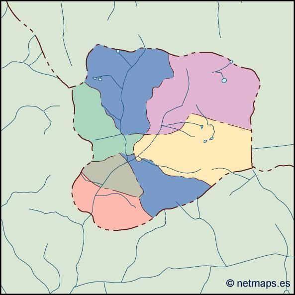 andorra blind map