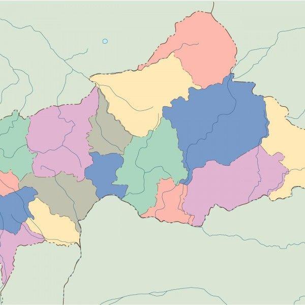 central africa blind map