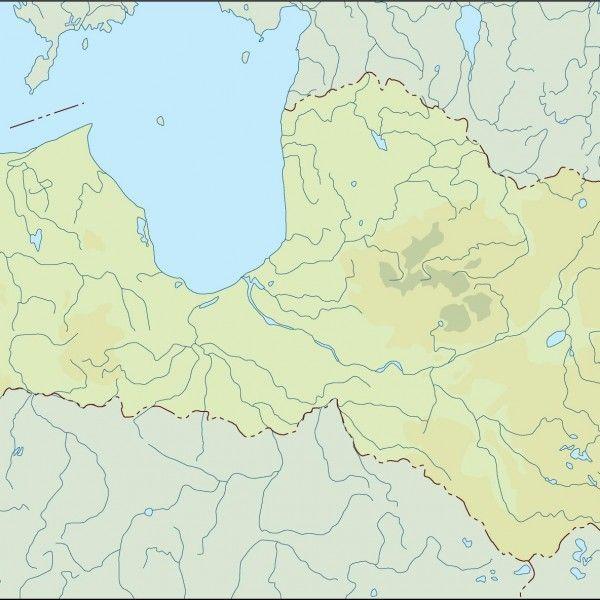 latvia illustrator map
