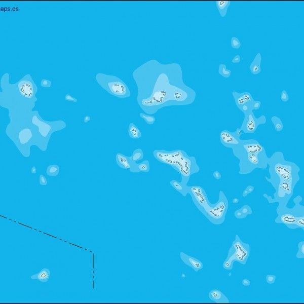 marshall islands illustrator map