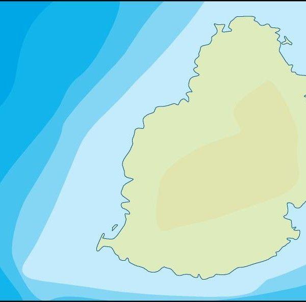 mauritius illustrator map