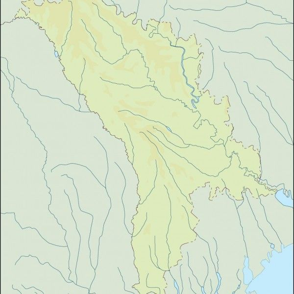 moldova illustrator map