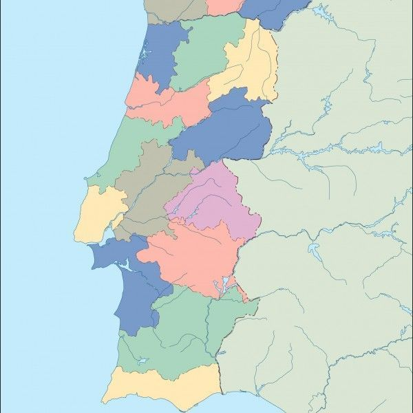 portugal blind map