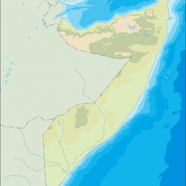 somalia illustrator map