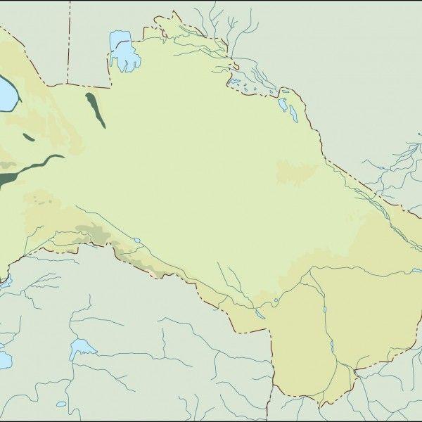 turkmenistan illustrator map