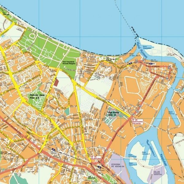 Gdansk EPS map
