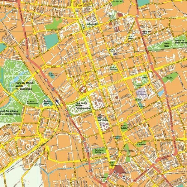 Lodz EPS map