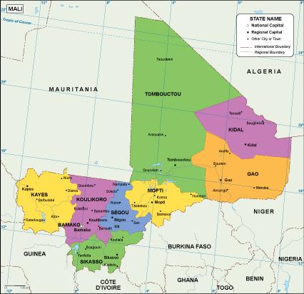 Mali EPS map
