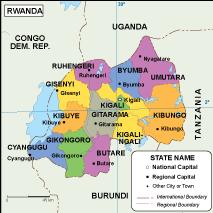 Rwanda EPS map
