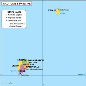 Sao Tome e Principe EPS map