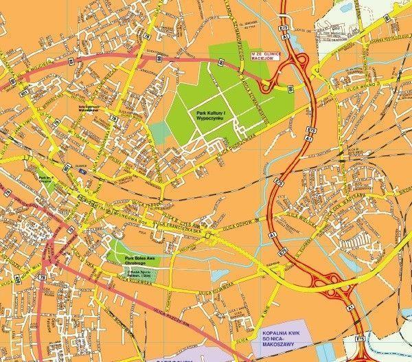Zabrze EPS map
