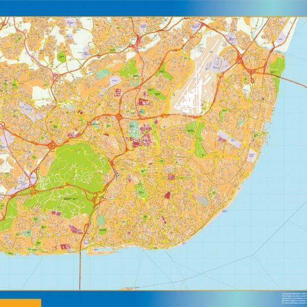 Lisboa mapa