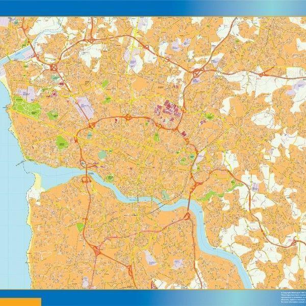 Porto mapa