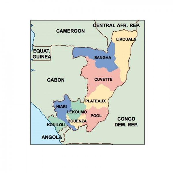 congo presentation map