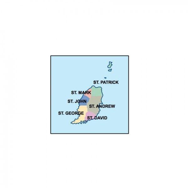 grenada presentation map
