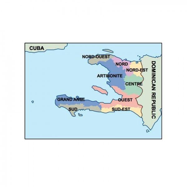 haiti presentation map