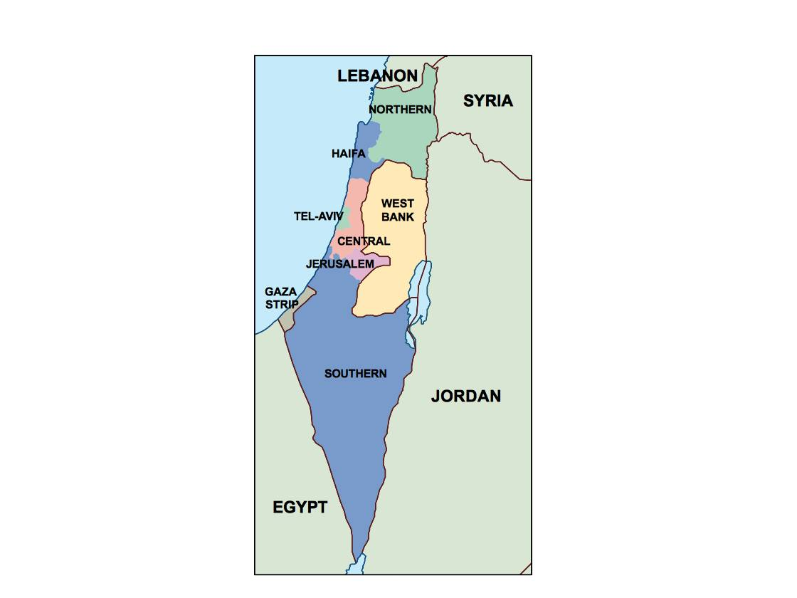 Map Of Uk For Powerpoint.Israel Presentation Map