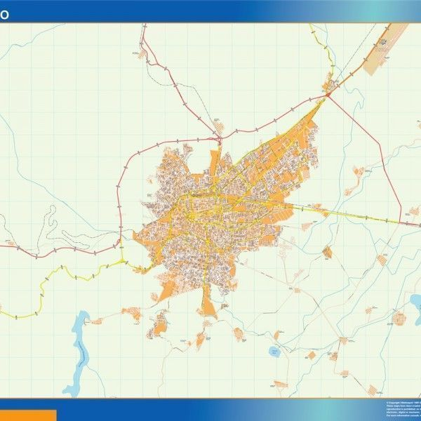 mapa Durango centro