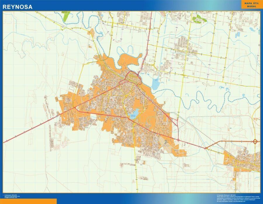 mapa Reynosa