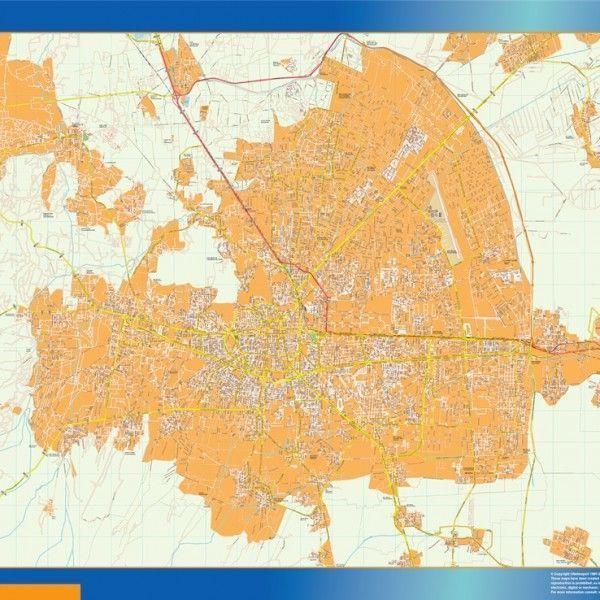 mapa Toluca centro