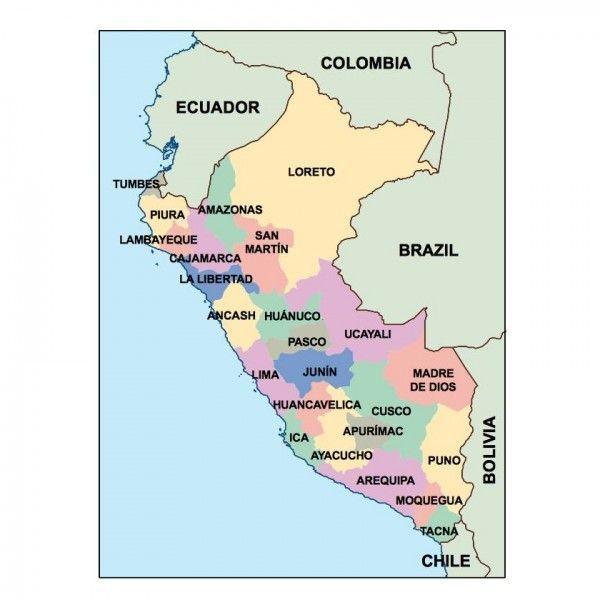 peru presentation map