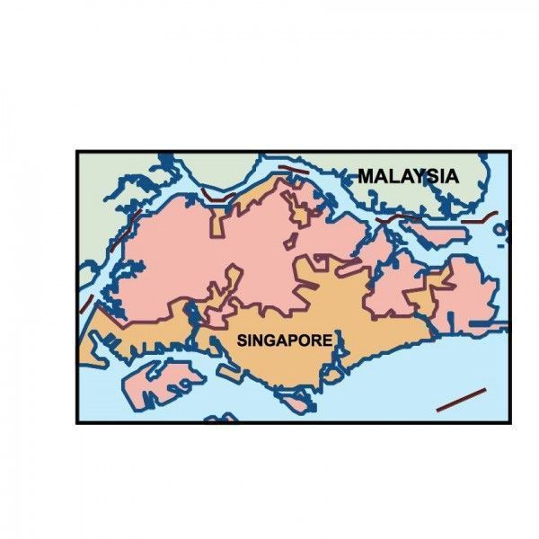 singapore presentation map