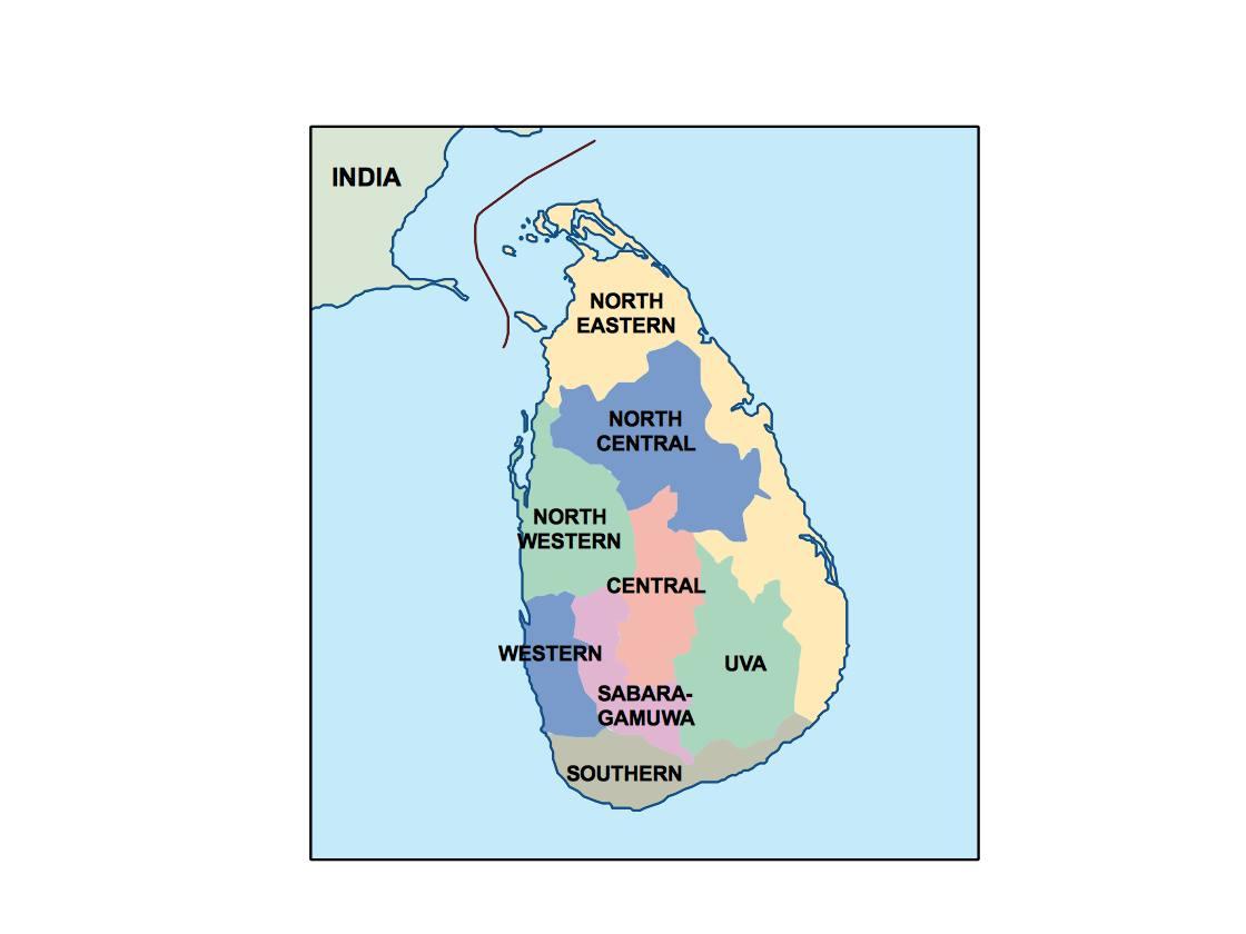 Sri lanka presentation map digital maps netmaps uk vector eps sri lanka presentation map gumiabroncs Images