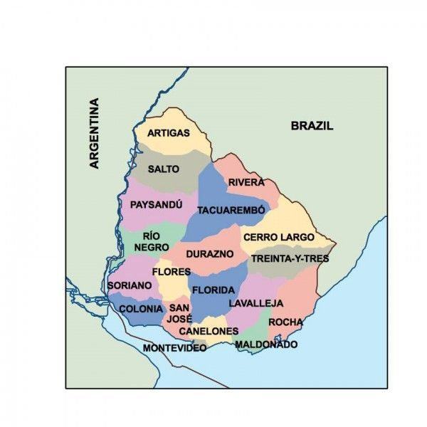 uruguay presentation map