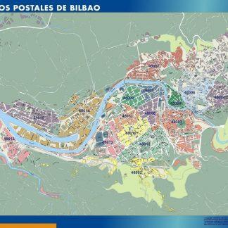 Mapa Codigos Postales Barcelona.Barcelona Codigos Postales Mapa Magnetico Digital Maps