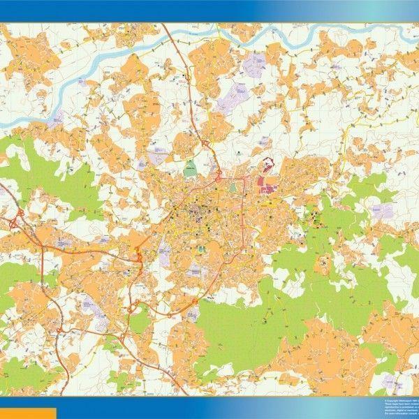 Braga Mapa Magnetico