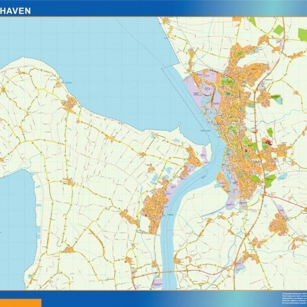 Bremerhaven Wandkarten
