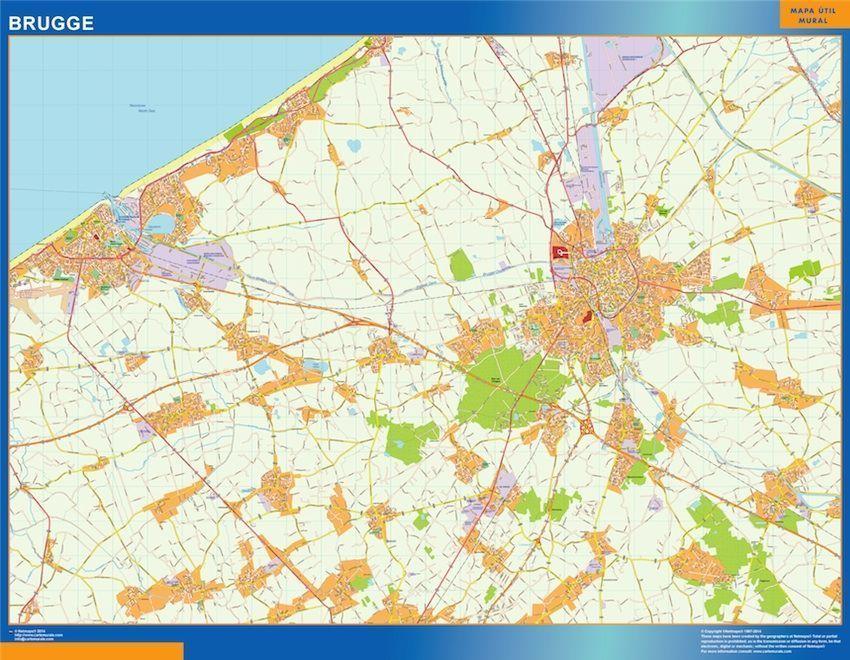 Carte Magnetique Brugge