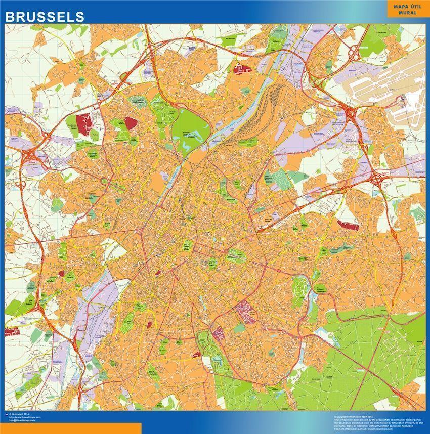Carte Magnetique Bruxelles