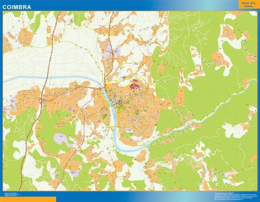 Coimbra Mapa Magnetico