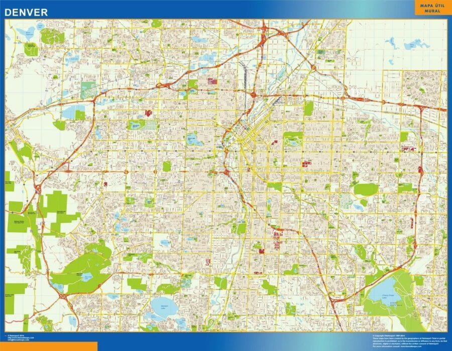 Denver Magnetic Map